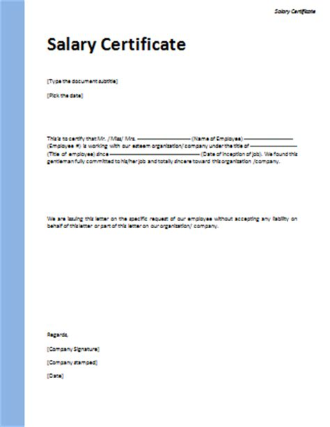 Sample of Introduction Letter for visa applications Employee